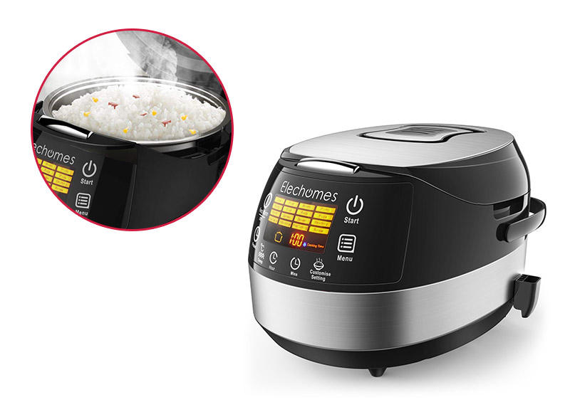 Elechomes CR502 LED Touch Control Rice Cooker