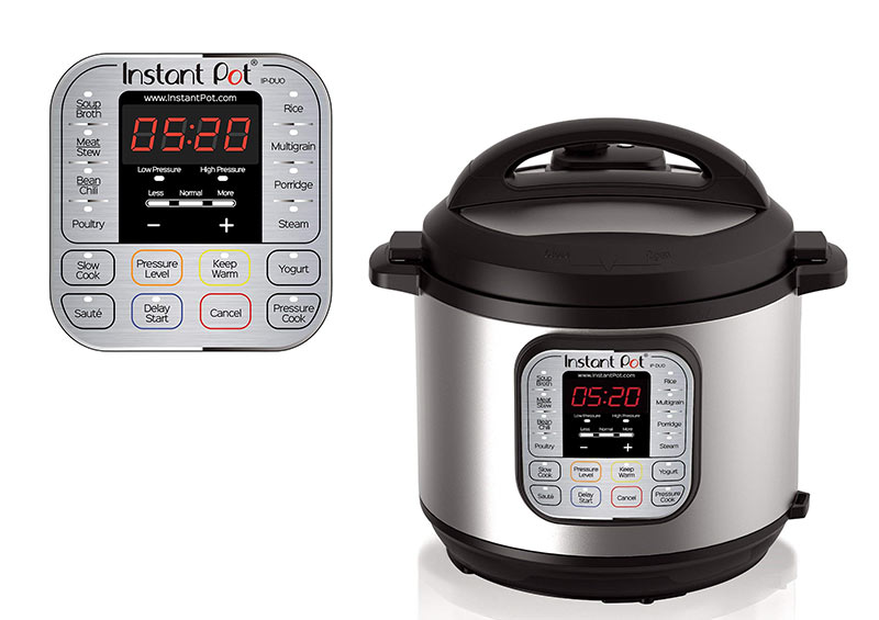 Instant Pot DUO60 Multi-Use 6 qt. Programmable Rice Cooker