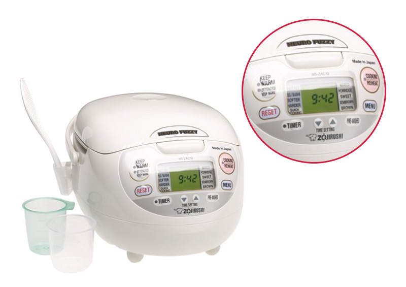Zojirushi NS-ZCC10 Neuro Fuzzy Rice Cooker and Warmer