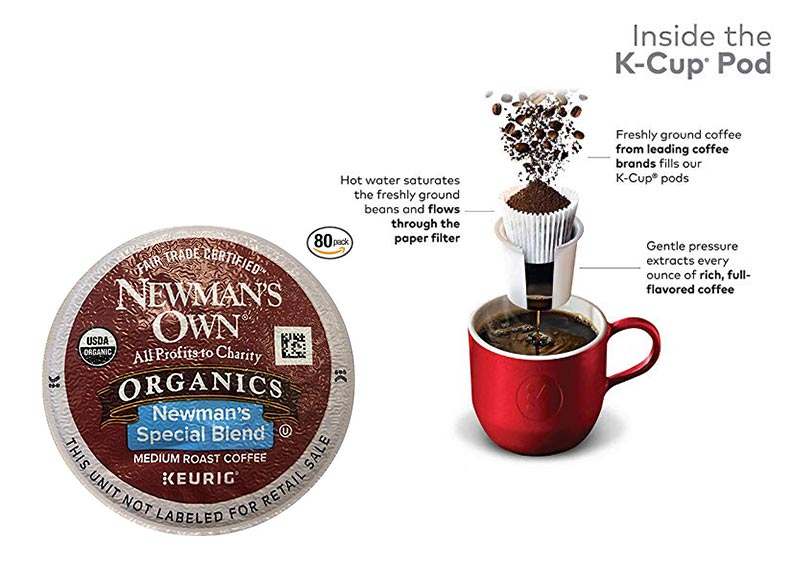 Newman's Own K Cups (Pack of 80)