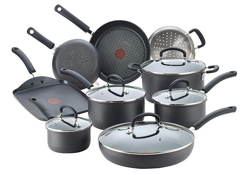 T-Fal Nonstick 14 Piece Cookware Set