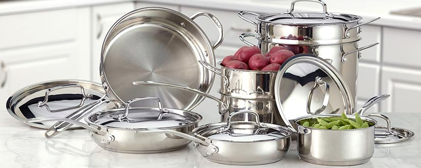 Cleaning Stainless Steel Cookware: How-To's