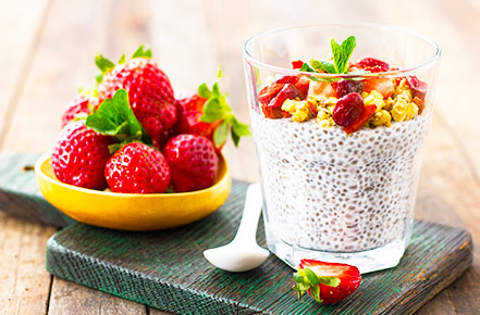 Chia Seeds in Smoothies