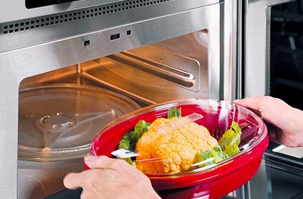 Plastic In Microwave