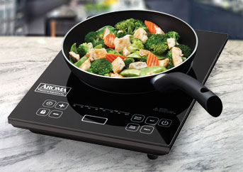 Aroma Inductions Cooktop