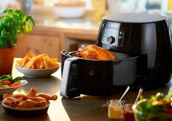 Air Fryer With Rotisserie
